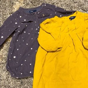 Baby Gap Corduroy dresses and Old Navy pants